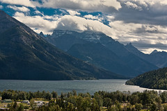 These amazing sights that are called The Canadian Rockies (JoLoLog) Tags: trees lake canada mountains alberta rockymountains lorien canadianrockies watertonlakesnationalpark upperwatertonlake canonxsi watertonscampground