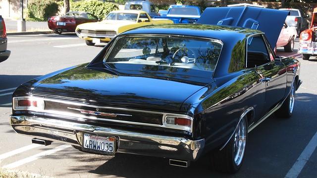 1966 Chevrolet Chevelle Malibu (Custom) 4RWW035 2