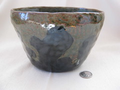 Splash bowl, big gloop (mikkashar) Tags: ceramic waterdrop crafts bowl clay pottery coilbuilt darkstoneware madebymikkashar