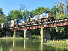 CSX Q268 10-13-13 (1) (lircmatt92) Tags: railroad li csx lirc columbusindiana z550 louisvilleindiana q226 q268 q288
