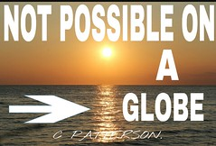 Not Possible On A Globe (ipressthis) Tags: sun moon plane globe truth flat god earth space yang dome reality bible curve yinyang yin universe hoax curvature flatearth nocurve