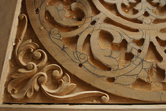 Developing intricacy (annikaAn) Tags: afghanistan kabul turquoise mountain woodwork artisan