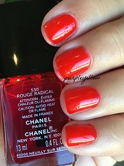 Chanel Rouge Radical (purple yellow) Tags: chanel rouge radical nail polish