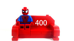 400 Followers!! (Web-Slinger) Tags: spiderman followers 400 milestone