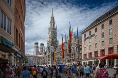 Marienplatz (lugarlu) Tags: viajes munich alemania plazas