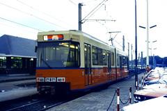 Slide 071-14 (Steve Guess) Tags: tram tramway streetcar strassenbahn strasenbahn  belgium belgique belgien belgi  flanders flandre flandern  nmvb sncv vicinal oostende ostend