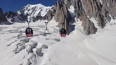 16_Mont-Blanc Panoramic to Helbronnee (Nick Ham100) Tags: chamonix aiguilledumidi utmb