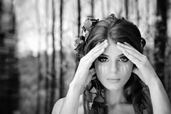 MAGAZINE III (Darkjoshhh) Tags: cover magazine woods portrait retrato teen bea beauty blackandwhite beautiful bn bnw vogue monocromatic lady young girl