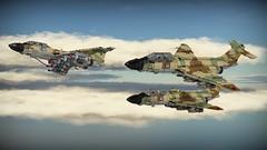 SAI Nammer (Lego Pilot) Tags: lego ldd povray aircraft fighter bomber jet sai nammer samaria fictional f101 voodoo mcdonnel