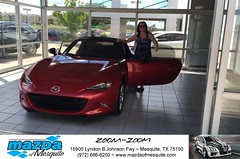 #HappyBirthday Nancie from Luis Rivera at Mazda of Mesquite! (Mazda Mesquite) Tags: mazda mesquite texas tx sportscars sporty dallas dfw metroplex automotive luxury new used preowned vehicles car dealer dealership happy customers truck pickup sedan suv coupe hatchback wagon van minivan 2dr 4dr bday shoutouts