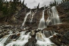 Waterscape Playground (Bun Lee) Tags: canadianrockies landscape rockymountain alberta bunlee bunleephotography icefieldparkway jaspernationalpark nature tanglefalls water waterfalls