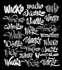 Wacko type treatments (Misha Karagezyan) Tags: calligraphy  lettering  logo logotype
