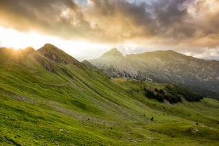 Sunset at Mountain Prokletije