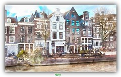 DE PRINSENGRACHT in AMSTERDAM (3) (rgisa) Tags: amsterdam prinsengracht gracht canal pniche boat