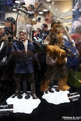IMG_6667 (willdleeesq) Tags: comiccon comiccon2016 sdcc sdcc2016 sandiegocomiccon sandiegocomiccon2016 sandiegoconventioncenter actionfigures toys hottoys starwars theforceawakens hansolo chewbacca