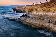 Sunset Cliffs Natural Park (Bob Kirschke) Tags: 2016 pontloma sandiego sunsetbeachcoastcalifornia sunsetcliffsnaturalpark bob kirschke sunset blue hour bluehour