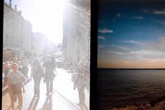 La Rochelle Diana Mini (BeefySquarms) Tags: 35mm dianamini diana halfframeshots filmphotography film photography larochelle daytime sunset twobytwo lomography