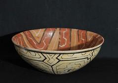 Shipibo Bowl Peru Amazonian (Teyacapan) Tags: shipibo crafts bowl peruvian peru amazonian selva ceramica barro clay artesanias