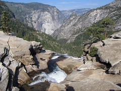 Brink of Nevada Fall (Mike Dole) Tags: yosemitenationalpark sierranevada california johnmuirtrail nevadafall