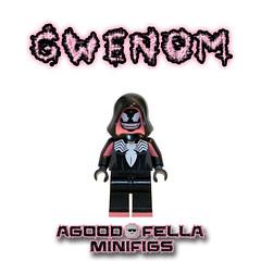 Gwenom [CUSTOM] [MOC] (agoodfella minifigs) Tags: lego marvel marvellego legomarvel venom gwenstacy gwenom legosuperheroes legomarvelsuperheroes legospiderman spidergwen symbiote