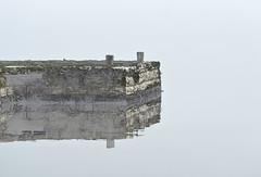Speglingar (arkland_swe) Tags: katthammarsvik gotland sea water vatten reflections spegling reflection pir pier