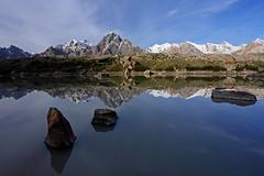 Chiphon: Reflections (Shahid Durrani) Tags: biafo glacier karakorams gilgit baltistan pakistan