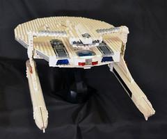 DSC_4714 (jonmunz) Tags: lego star trek spaceship uss reliant starship wrath khan