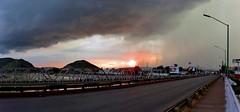 Ocaso y Tormenta de Granizo.../Sunset and Hail Storm... (jerodamor@yahoo.com.mx) Tags: nubes tormentas ocasos ronazas torren gmezpalacio coahuila durango