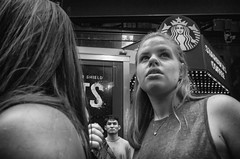 Times Square (Roy Savoy) Tags: bw city blackandwhite august digital roysavoy nyc newyorkcity newyork blacknwhite street streets streettog streetogs ricoh gr2 candid flickr explore candids streetphotography photography streetphotographer 28mm nycstreetphotography gothamist tog mono monochrome flickriver snap monochromatic people