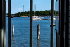 Out there (Jori Samonen) Tags: bars water sea boats trees sky kruununhaka helsinki finland sony ilce3000 e 1855mm f3556 oss sonyilce3000 e1855mmf3556oss posts bokeh dof depthoffield