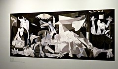Guernica (knightbefore_99) Tags: vag vancouver art gallery muses pablo picasso exhibition cool painter french spain 1937 guernica atrocity nazi scum
