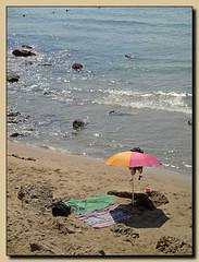 Ode ad un giorno Felice (mareblu2013) Tags: poesia spiaggia mare estate ombrellone summer beach sea ode neruda pabloneruda