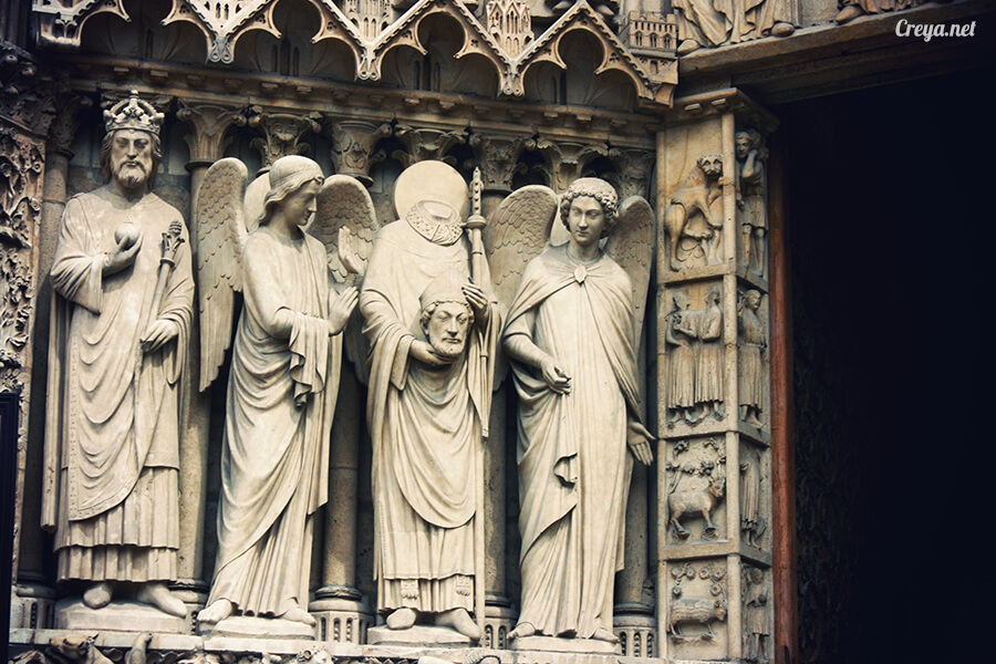 2016.10.02 ▐ 看我的歐行腿▐ 法國巴黎一日雙聖,在聖心堂與聖母院看見巴黎人的兩樣情 20