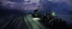 Convoy (~Scimo~) Tags: ps4 madmax screenshot car clouds dark road fantasy