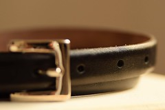 In a row (adelina_tr) Tags: macromondays inarow belt leather