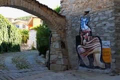 A zia Elisabetta la sibilla di Orgosolo (Olivier Monbaillu) Tags: monbaillu canon eos7d murales peinturesmurales murals orgosolo orgsolo barbagia barbgia sardegna sardaigne sardinia italia italie italy