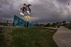 Riki - Hardflip (isra_borda) Tags: skateboarding skate outdoor xtreme sports