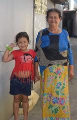 with grandmother (the foreign photographer - ) Tags: aug72016nikon pretty girl grandmother grandma khlong bang bua portraits bangkhen bangkok thailand nikon d3200
