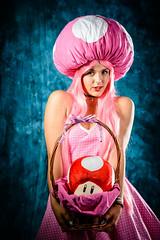 aniventure_2016_photo_corner-155 (Victor G Minchev) Tags: cosplay portrait nikon 70200 studio photocorner comiccon costume super mario mushroom princess another castle