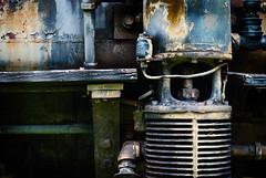 Danger, Will Robinson! (hutchphotography2020) Tags: machinery train rust metal grunge