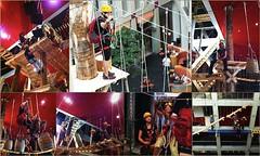 Themed #indoor #ropescourses enhances customer experience. #games integration = engagement http://j.mp/2bF9UkR (Skywalker Adventure Builders) Tags: high ropes course zipline zipwire construction design klimpark klimbos hochseilgarten waldseilpark skywalker
