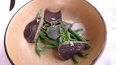 Pahissa del Mas Pou (2016) (encantadisimo) Tags: ensalada bonito judias esprragos brasa ajoblanco albahaca