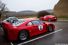 Rallye de Paris 2012 - Ferrari F40 (Deux-Chevrons.com) Tags: ferrarif40 ferrari f40 car coche voiture auto automobile automotive supercar sportcar gt prestige rallyedeparis rallye paris france exotic exotics onroad road route