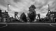 Monochrome Zeche Zollern (Job I) Tags: dortmund europe ruhrgebiet germany travel tourism architecture tower building city urban industry industrial monochrome black white zeche zollern mine mining