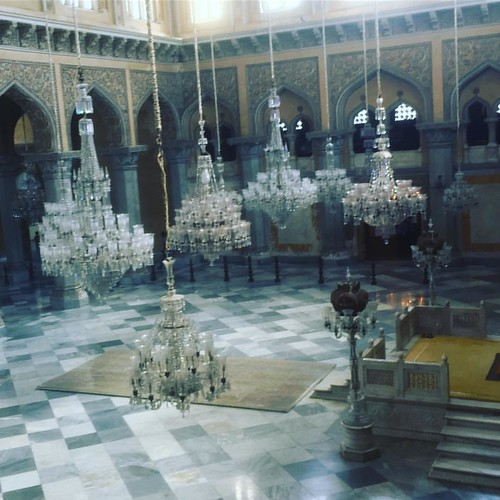 Beautiful #chandeliers at #chowmahallapalace #hyderabad