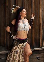 Steampunk Beautiful Woman 737 (thePhotographerRaVen) Tags: steampunk tucson oldtucson arizona wwwc wwwc5 wildwest fantasy beautiful woman photosbyraven