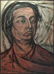 Gabriela Mistral (flor.O) Tags: art pintura peinture poet