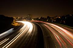 Winding Around Her Curves (Thomas Hawk) Tags: 580 california eastbay oakland usa unitedstates unitedstatesofamerica freeway night fav10 fav25 fav50