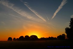 How Do You Rate The Morning Sun....... (law_keven) Tags: sunrise london england richmondpark ricmond landscape silhouettes trees parks parklife