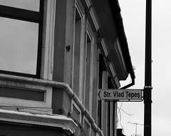 Vlad Tepes Street (Miranda Ruiter) Tags: vladtepes dracula street blackandwhite brasov romania streetphotography transsylvania